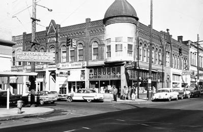 Hill Block Building in 1962