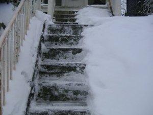 Stairs Shoveled