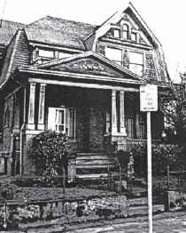 1910 John F. Wilson house at 2118 N Vancouver