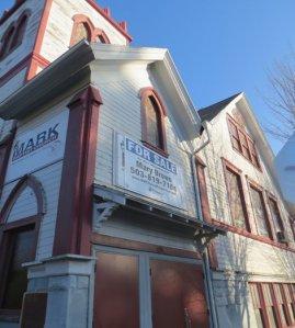 St Mark's Baptist Church was a former German church