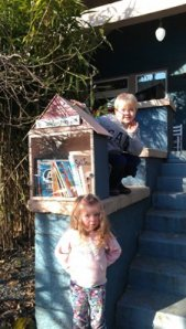 Our Little Free Library on NE Graham