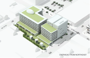 """""""Aleta"""" a Proposed Development on Williams and Fremont."""