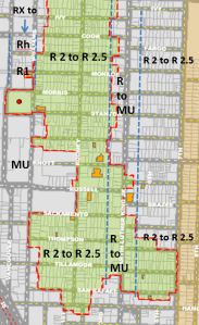 Proposed Zone Map