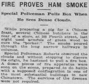Ham Smoke