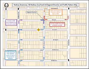 Rodney Diverter Map