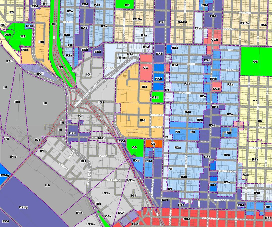 zoning eliot neighborhood