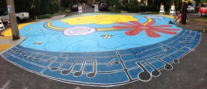 Freshly Painted Community Crossing