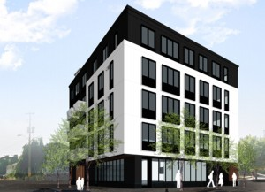 Proposal for apartments on MLK at Sacramento.