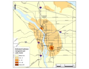 Elevated Cadmium Levels in Portland