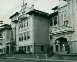 Eliot School corner of Knott and Rodney c 1951. Portland Archives A2001-030