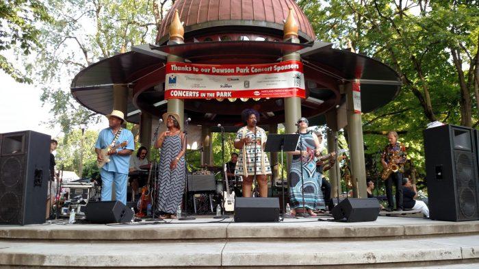 Dawson Park Concert