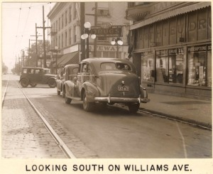 Williams at Russell 1937