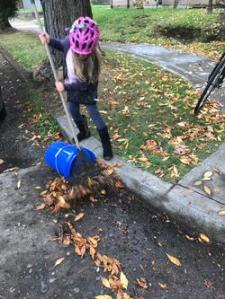 Clearing a Storm Drain